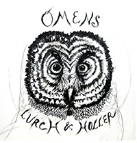Lurch and Holler Omens CD cover